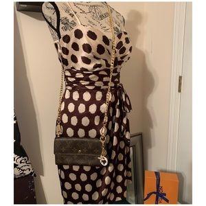 Louis Vuitton Bags - Louis Vuitton Vintage Sarah Wallet On Chain Crsbdy
